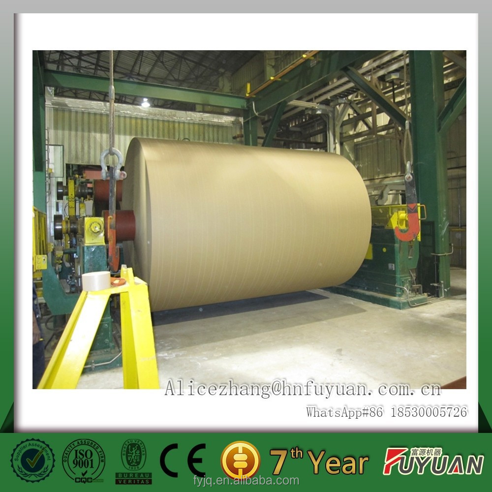 improved technical and process knowledge kraft paper making line, kraft paper making machine