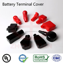 soft PVC rubber battery terminals lug end caps cover protector for truck car motor electric bike