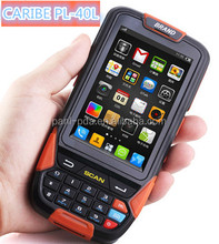 CARIBE PL-40L AR084 barcode scanner android pda with RFID funtion communicate by wifi 3G blue tooth NFC water proof