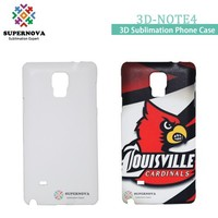 3D Sublimation Blanks Mobile Phone Case for Samsung Galaxy Note4