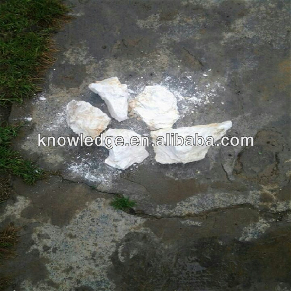 SUPER WHITE NATURAL BASO4 98 BARITE ORE BARTE LUMP