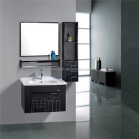 Wholesale wall stainless steel laundry sink cabinet with side cabinet