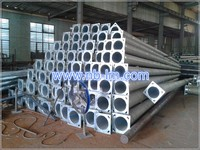 galvanized octagonal street lighting pole 3m-30m