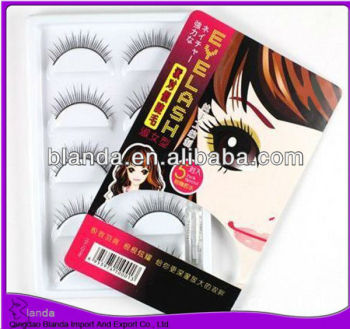 Premium quality eye patch eyelash extension 100 human hair