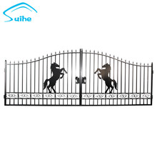 Latest wrought iron indian house main gate designs