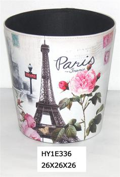 Handicraft bedroom waste paper bins for wedding decoration for Handicrafts from waste