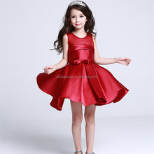 2016 latest children dress designs crystal party dresses