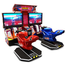 Low price TT moto 32 inch tuning race simulate coin operated motorcycle arcade car racing game machine