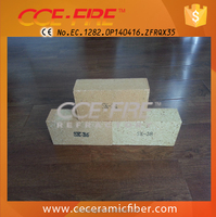 CCE FIRE Common Size High Alumina Fire Brick Factory