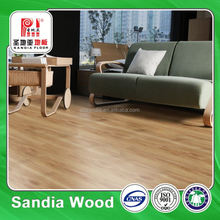 Chinese Oak Laminate Flooring / Hand Scratched Hdf Laminate Wood Flooring