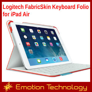 Original Logitech FabricSkin Keyboard Folio for iPad Air