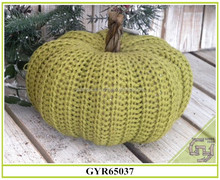 2017 hot sale cotton artificial pumpkin for Harvest Decoration
