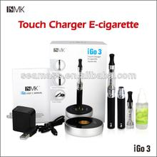 Touch charger e-cigarette EGO e cigarette clear atomizer iGO3
