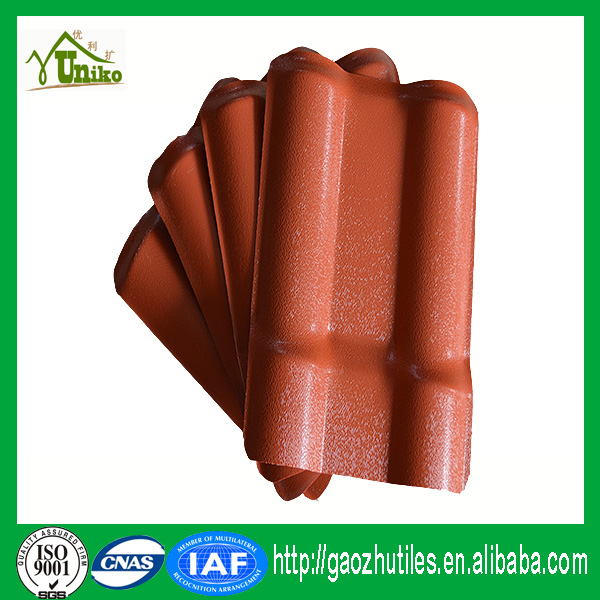 multi color asa coated swiss roof tiles for house
