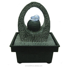 stonelite mini water fountain with light