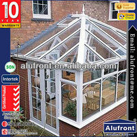 New design aluminum frame profile glass sunroom