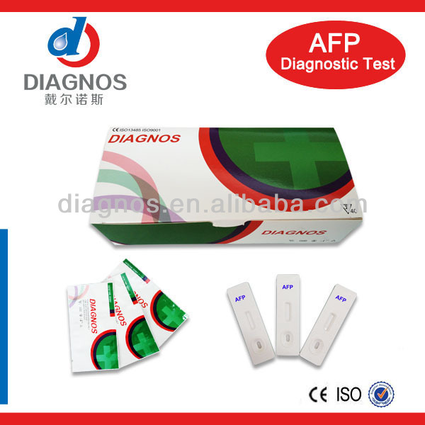 High quality Tumor marker Alpha Fetoprotein/ AFP rapid test kit