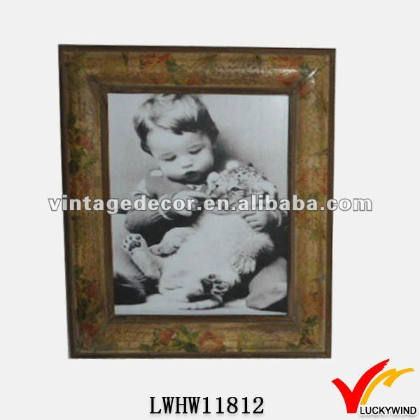 2014 handmade nice photo frames designs wood