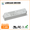 UL 100-132VAC power led driver and constant current 40w led driver