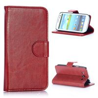 Crazy Horse Texture Wallet Flip PU Leather Case for Samsung Galaxy S3 I9300