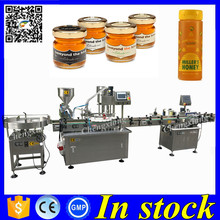 Door to Door honey filler,bottle filling machine