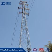 Alibaba High Quality 500kv Power Transmission Line Steel Tower