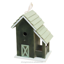 high quality factory sale FSC garden wooden pet bird cages carriers house