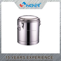 Stainless steel hot pot thermo food pot/ container & insulation barrels