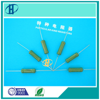 glass glazed high voltage resistor RI40A small volume high power