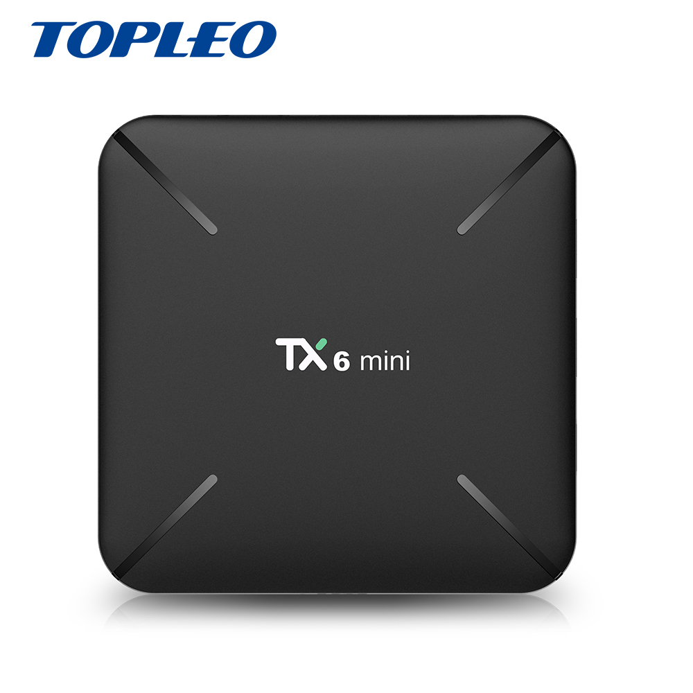 Topleo Factory price commercial TX6 mini Allwinner H6 OTA <strong>auto</strong> update android 9.0 tv box 2GB 16GB