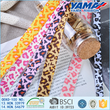 Good Quality Grosgrain Ribbon Wholesale Leopard Print Ribbon Suppliers