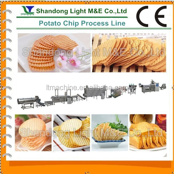 Large Capacity Fresh Potato Chips Making Machine Price