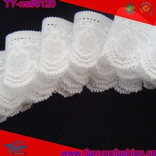 white insertion venice elastane natural lavender nylon lace trims