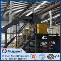 Plastic waste tyre recycling plant supplier waste tyre recycle line made in China
