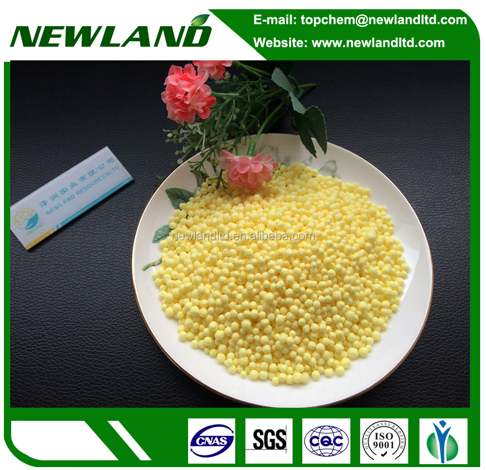 High quality sulfur coated urea fertilizer
