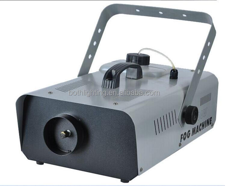 equipments producing dj player 3000w smoke machine fog lights