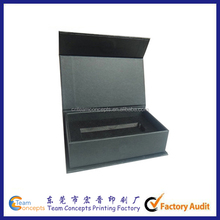 Customized Black Jewellry Gift Box With Magnetic
