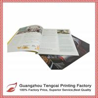 Guangzhou printing perfect binding and fashion custom magazine