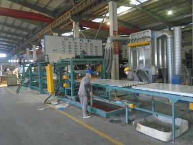 Sandwich Panel Production