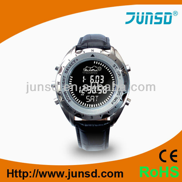 Multifunctional wristband digital altimeter watch with gift box packing