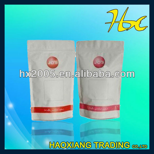 stand up silver packaging bags/coffee packaging bags