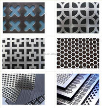 304 stainless steel aluminum galvanized iron perforated metal sheet