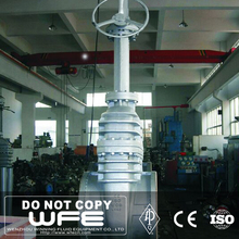 WFE 44 Inch Large Carbon Flexible Wedged Flanged Gate Valve