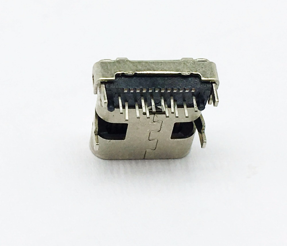 USB 3.1 type <strong>C</strong> connector female on board type shell DIP, terminal DIP+SMT, shell feet pitch 4.4