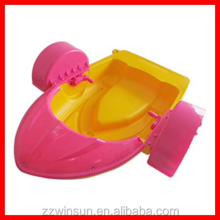 hot sale kids hand aqua water plastic pedal paddle handle boats for sale