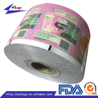 200 micron Laminating Packaging Plastic Film For Water Pouch/