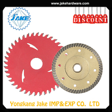 China manufacturerdiamond laser welded turbo saw blade, scroll saw blade, concrete saw blade