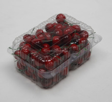Plastic Clamshell Fruit PET Packaging Trays