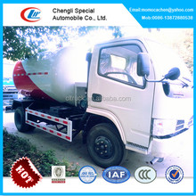 Mini lpg gas truck with refilling unit 5500 Liters mobile lpg tank truck with filling dispenser RHD or LHD
