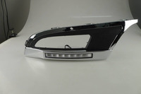 Refitting LED DRL auto lamp for POLO'12 2010-2013 daytime running light